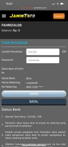 withdraw togel online jamintoto